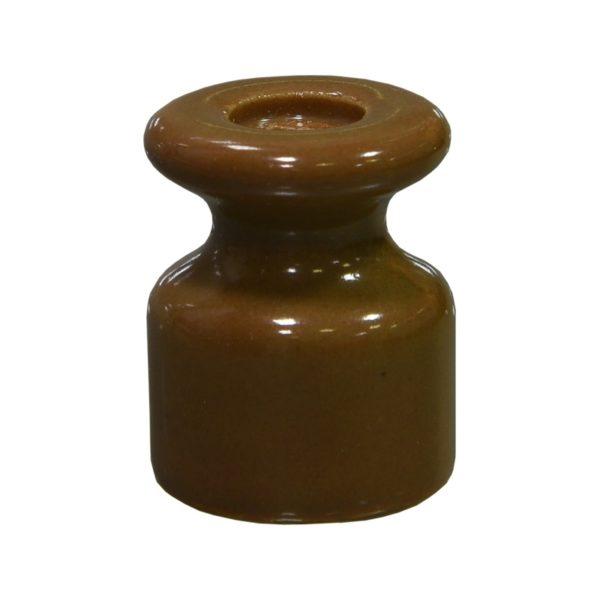 Изолятор керамический капучино Lindas