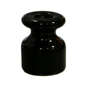 Изолятор керамический черный Lindas