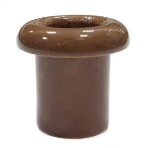 Втулка керамическая для сквозного отверстия капучино Lindas